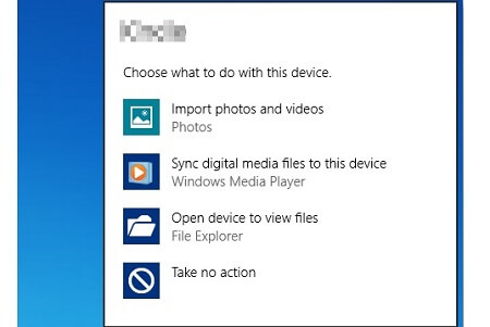 Fotos vom Samsung auf den Windows Computer übertragen