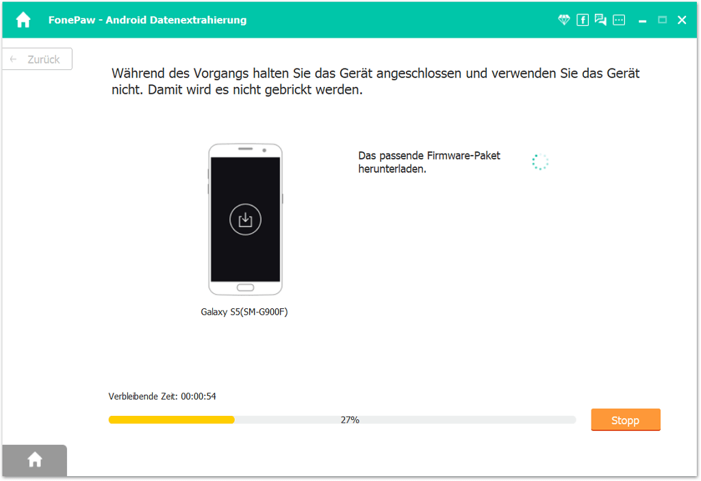 Android Gerät reparieren