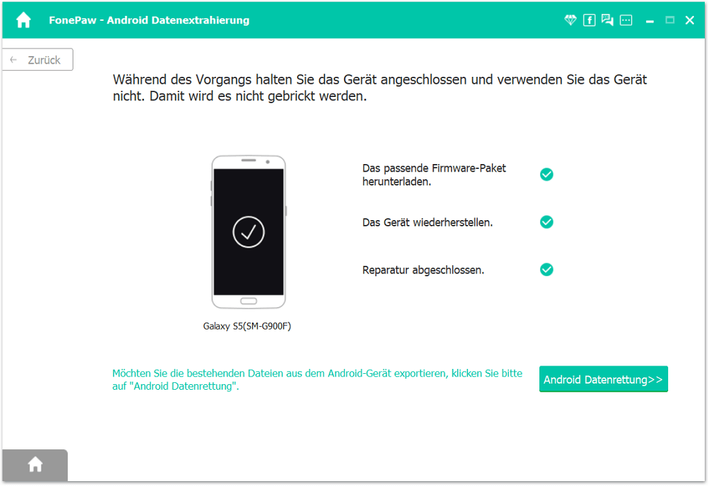 Android Handy reparieren