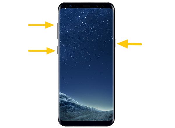 Samsung in Wiederherstellungsmodus starten