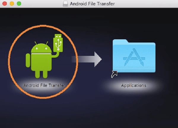 Android File Transfer installieren