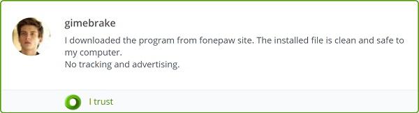 Checker für Webseite Sicherheit vertraut FonePaw