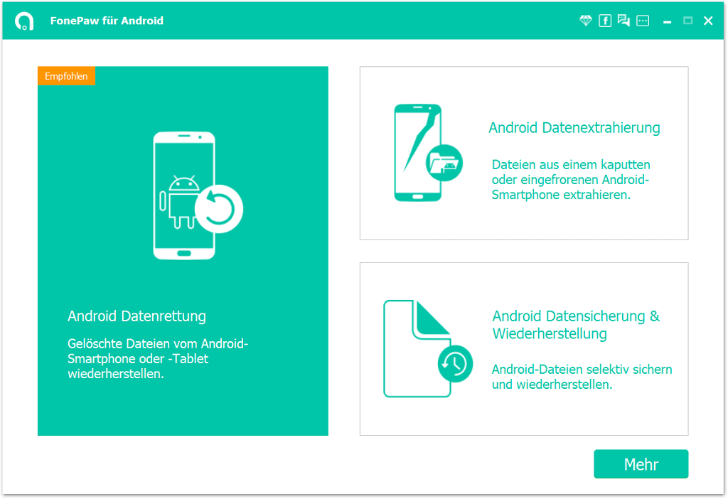 FonePaw Android Datenrettung