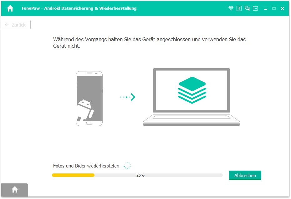 Android-Backup wiederherstellen