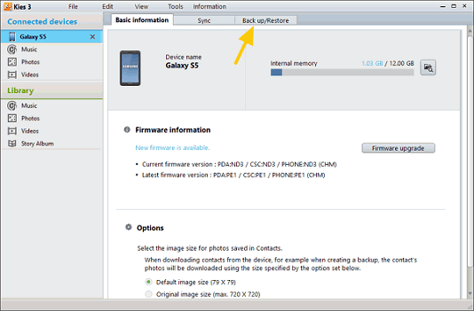 Samsung Kies 3