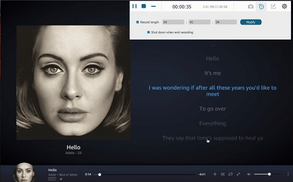 Amazon Prime Music aufnehmen in MP3