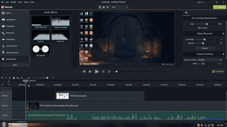 Camtasia Studio Video Recorder