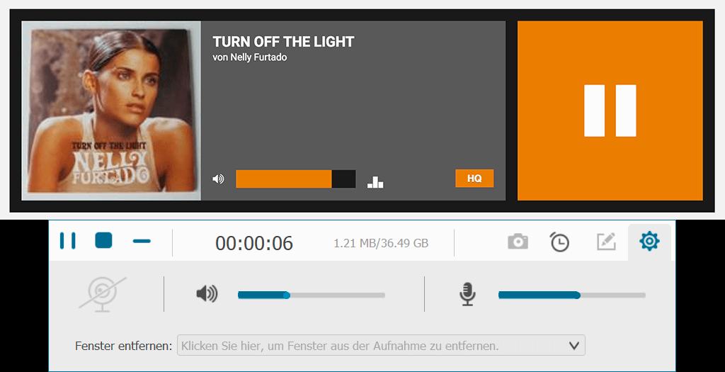 Internet Radio Stream aufnehmen