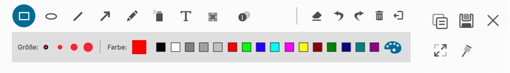 Snip Bildschirm bearbeiten auf Mac