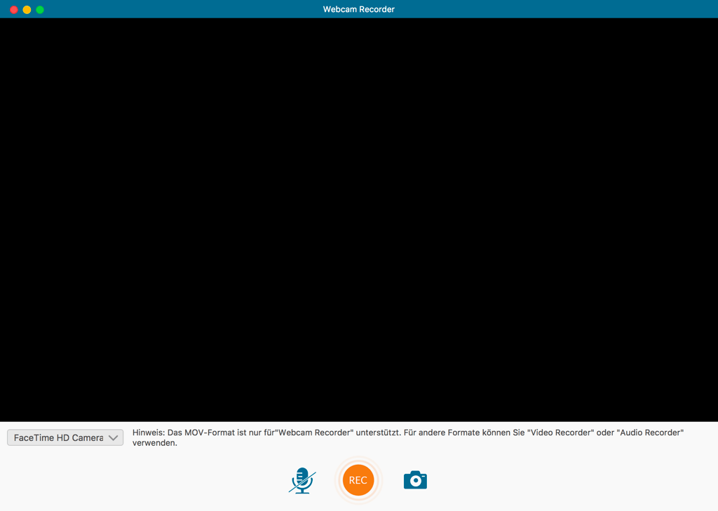 Webcam-Video auf Mac aufnehmen