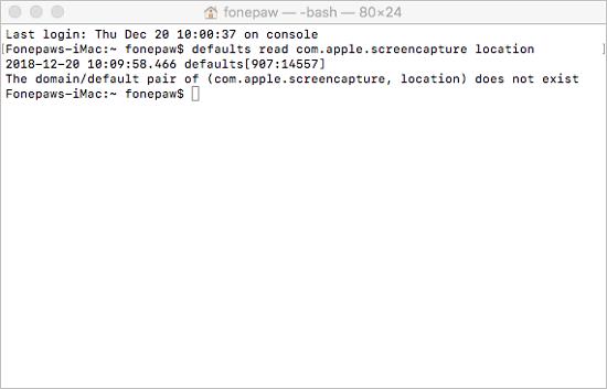Mac Bildschirmfoto Standardspeicherort finden