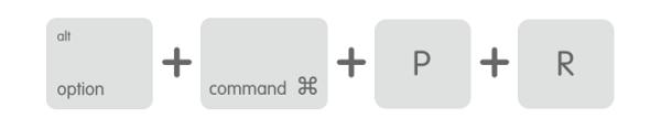 MacOS NVRAM zurücksetzen Tastenkombination