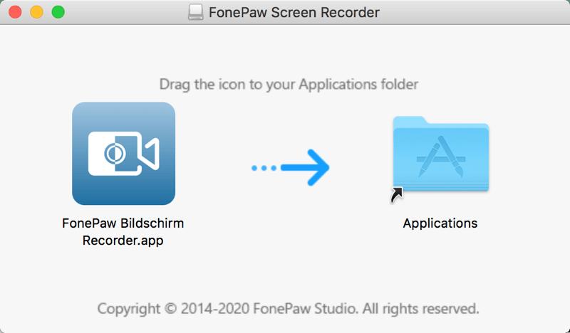 FonePaw installieren auf Mac