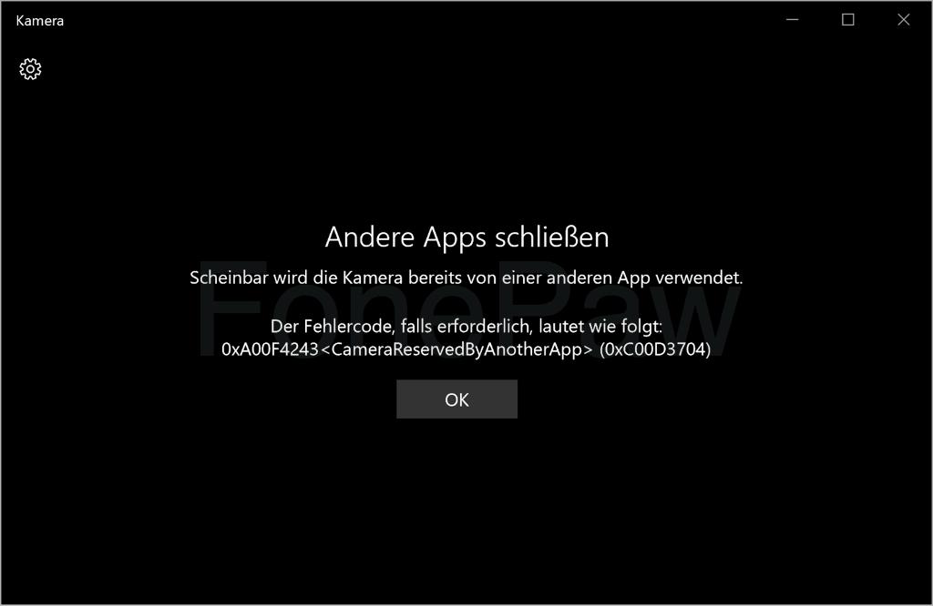 Andere Apps schließen