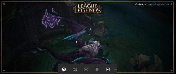 Bildschirm aufnehmen unter Windows 10 mit Xbox Spieleleiste