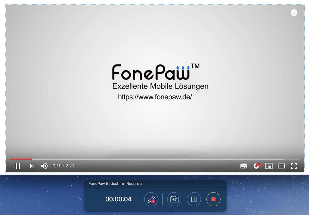 YouTube online Video aufnehmen