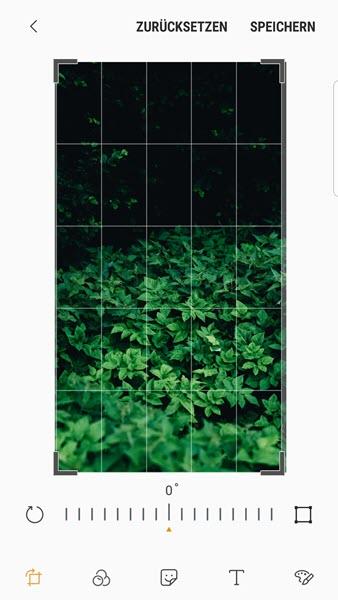 Bilder zuschneiden Android