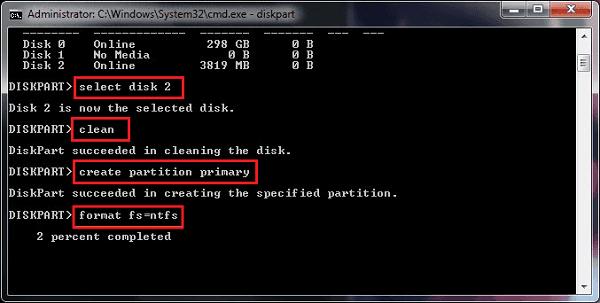 CMD-Format öffnen