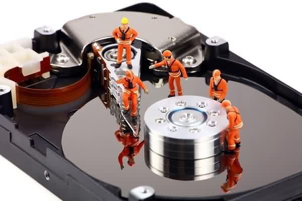 Defekte Festplatte reparieren