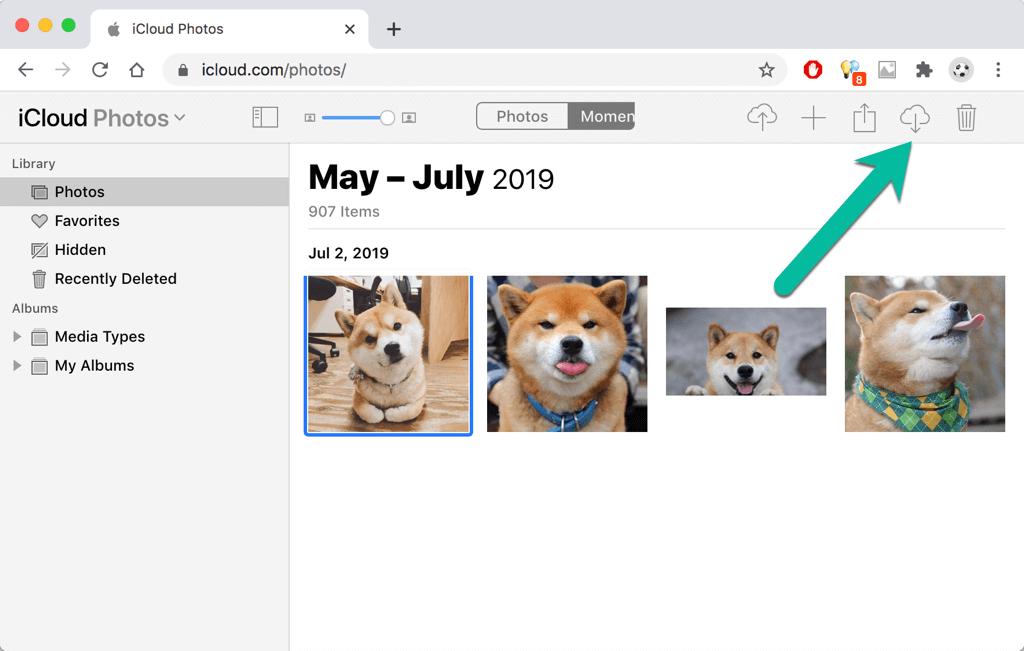 Mac Fotos wiederherstellen aus iCloud