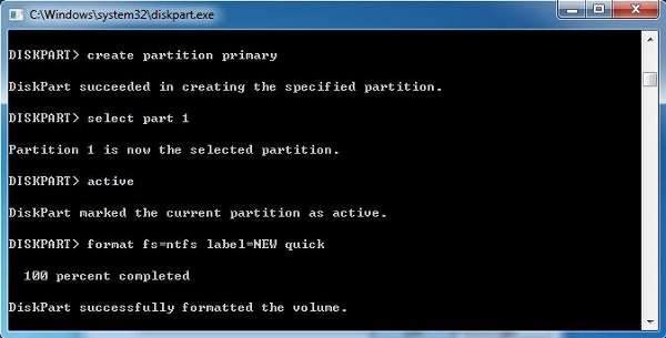 Datenträger von RAW in NTFS formatieren