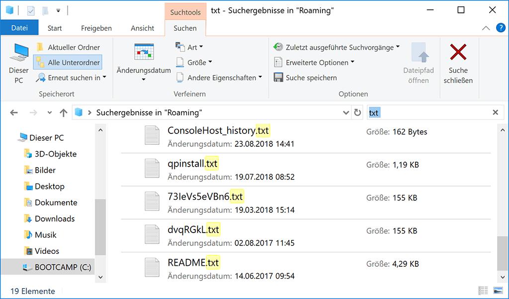 Nicht gespeicherte Editor-Dateien wiederherstellen