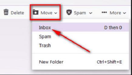 Yahoo-Mail wiederherstellen