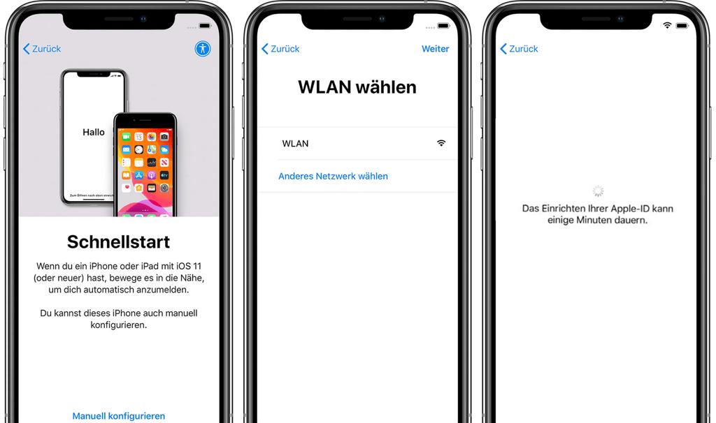 iPhone aktivieren ohne SIM Karte