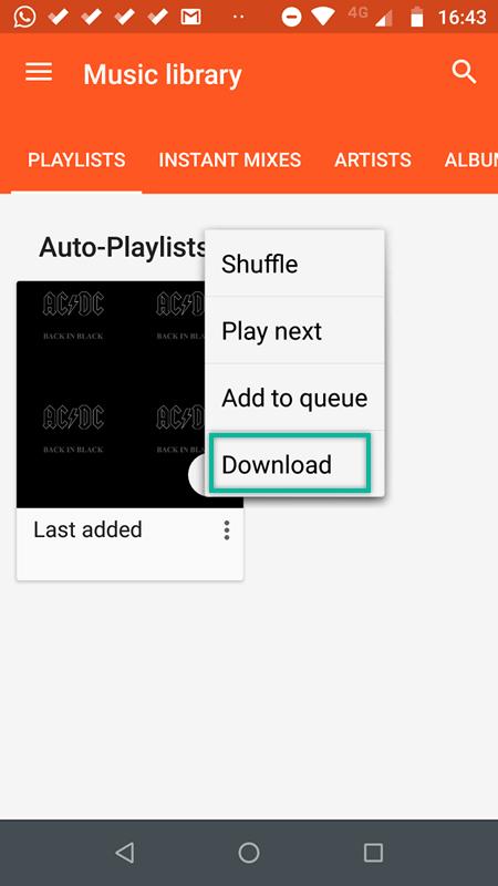Google Play Music Auf Handy Speichern