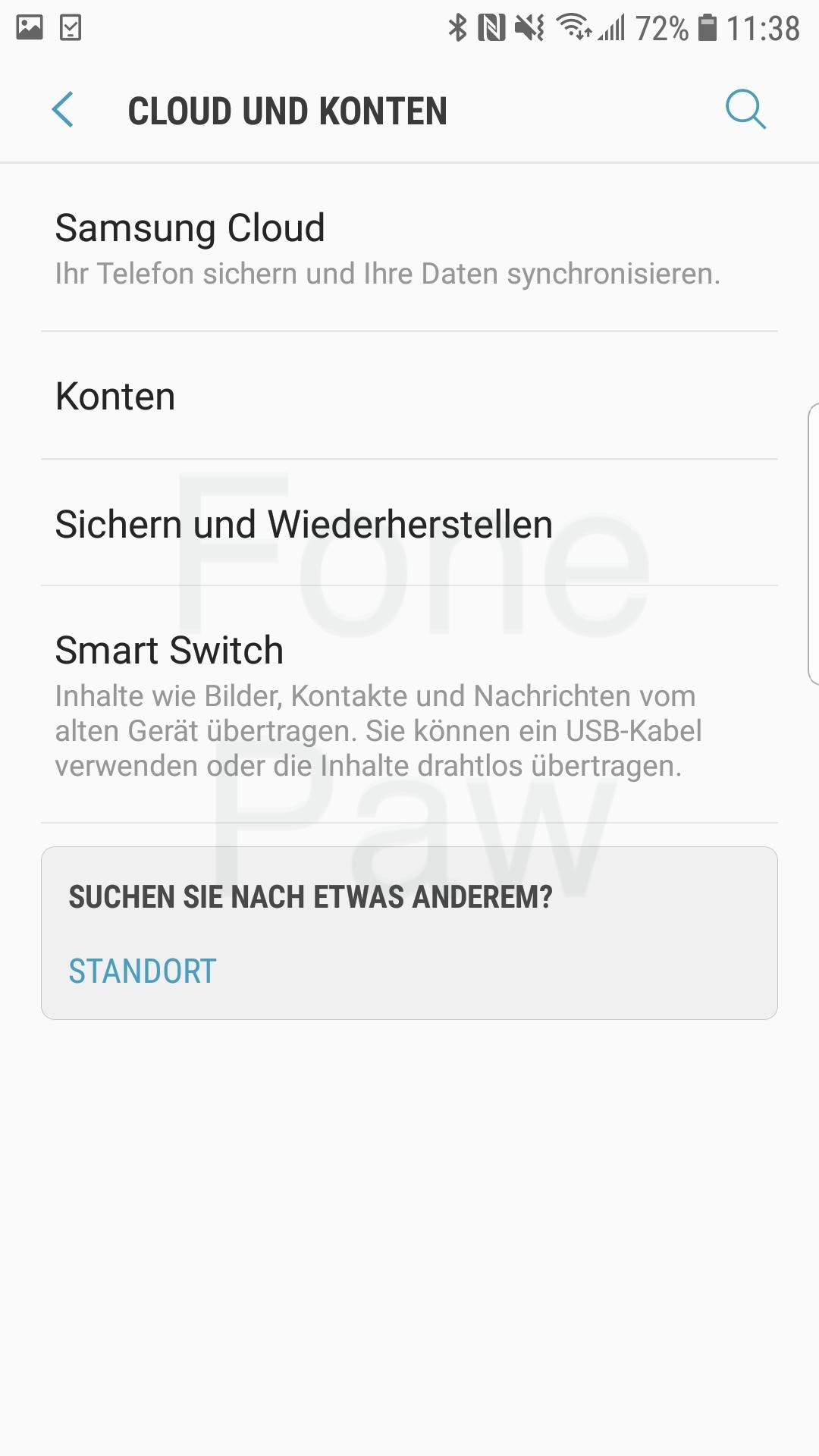 Samrt Switch App öffnen
