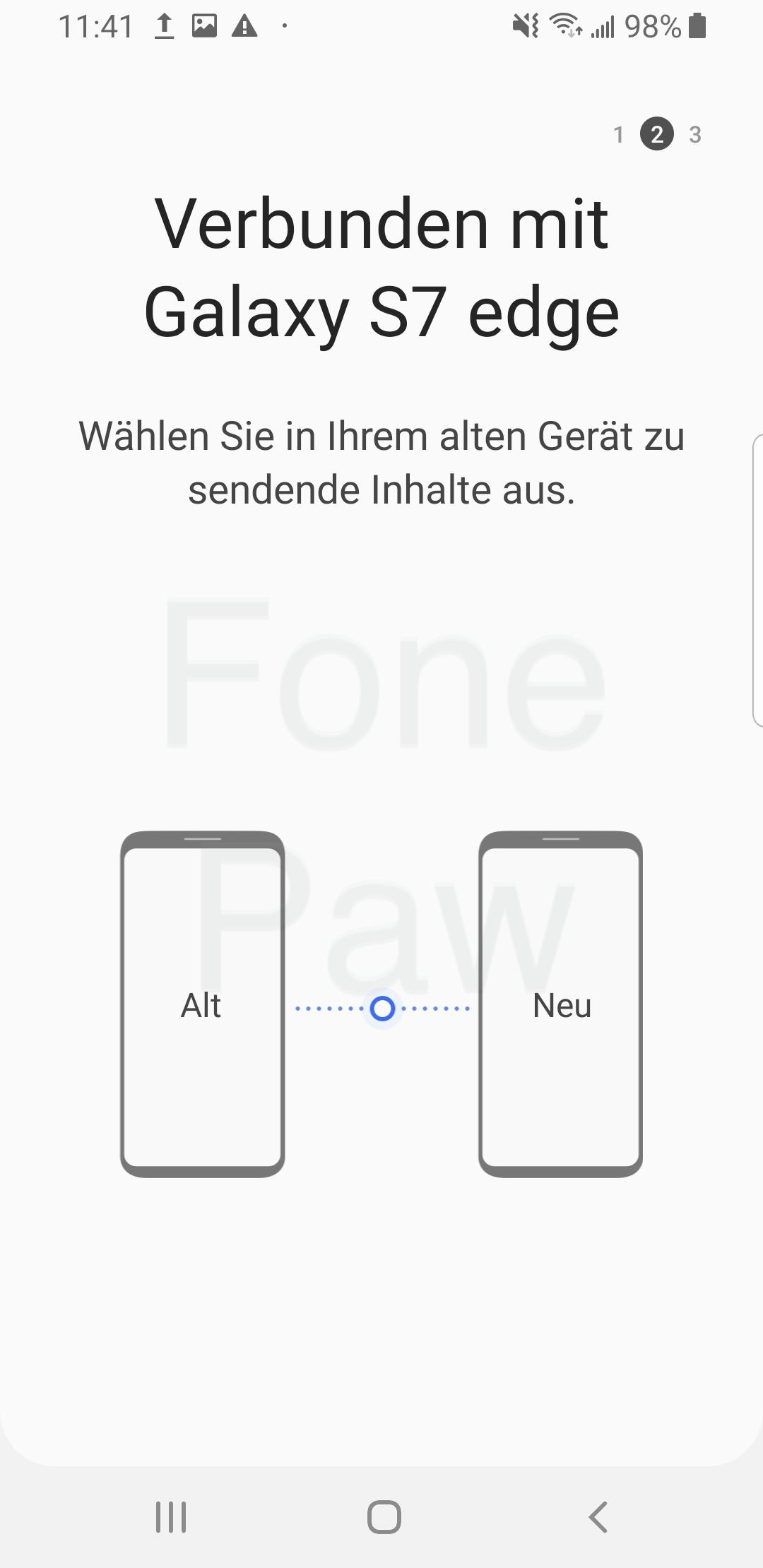 Smart Switch Verbindung herstellen