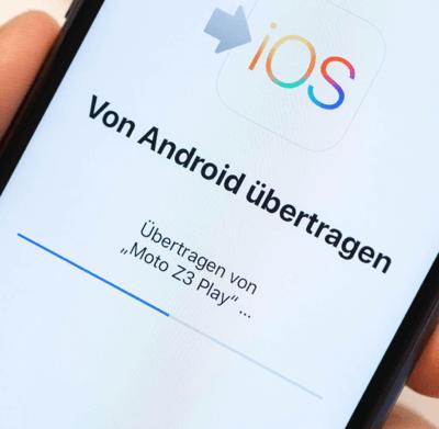 Move to iOS von Android übertragen
