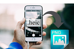 HEIC in PNG