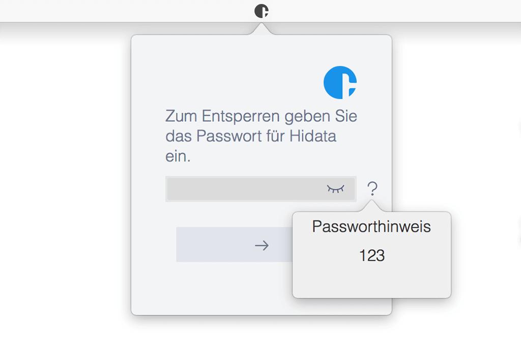 Passwortgeschützte Dateien anzeigen shortcut