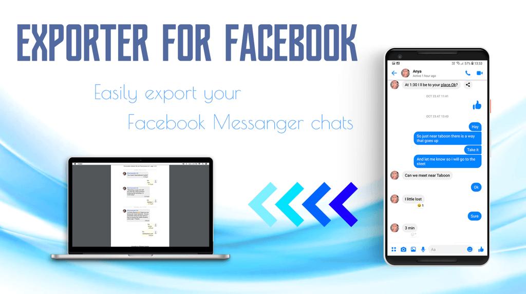 Exporter for Facebook