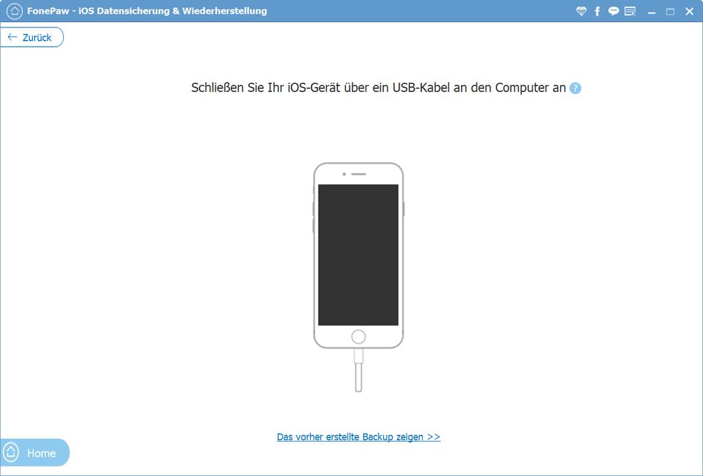 iOS Gerät mit PC verbinden