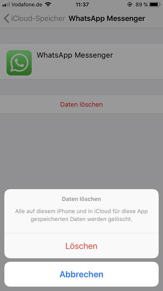 Whatsapp Hängt