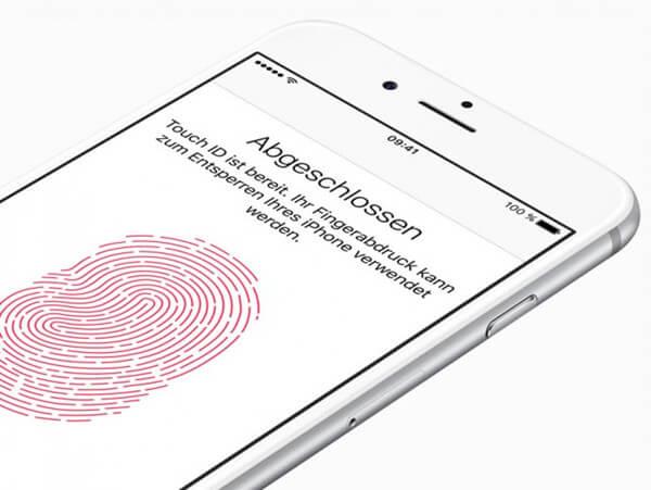 Touch ID Fingerabdruck