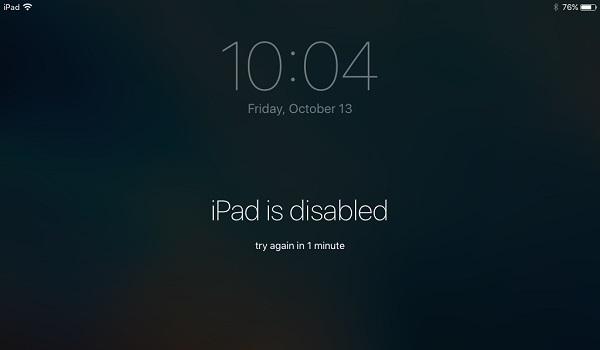iPad deaktivieren