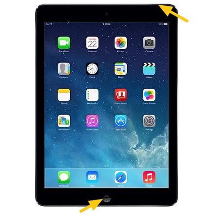 iPad neustarten