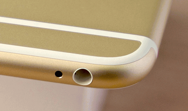 iPhone Kopfhörerbuchse Staubschaden