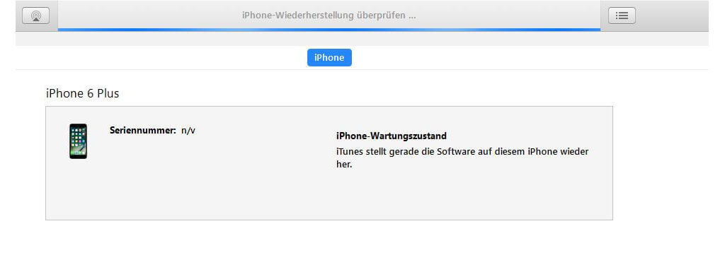 iPhone mit iTunes wiederherstellen und Aktivierungssperre umgehen