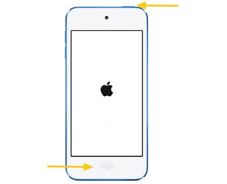 iPod touch Neustart erzwingen
