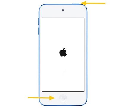 iPod neustarten