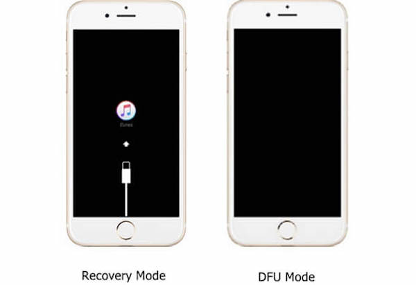Recovery-Modus und DFU-Modus