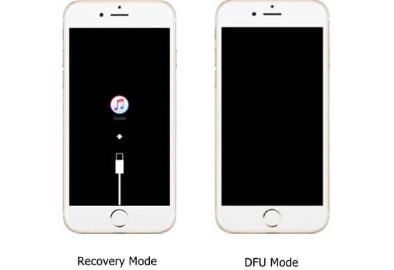 iPhone Unterschied zwischen Recovery Modus und DFU Modus