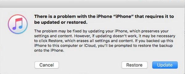iOS 12 OTA-Update fehlgeschlagen