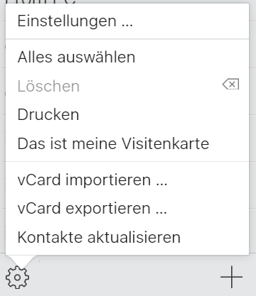 iPhone-Kontakte von iCloud in Form von vCard einfach exportieren