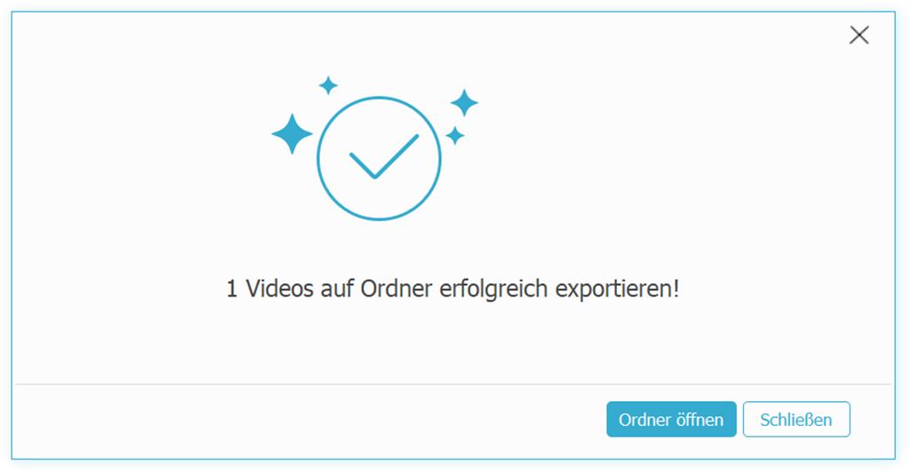 Medien exportieren FonePaw iOS Transfer