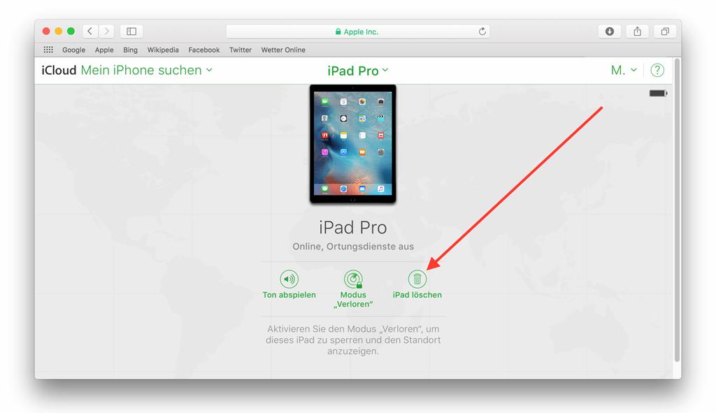 wie kann man ein komplett defektes iphone löschen